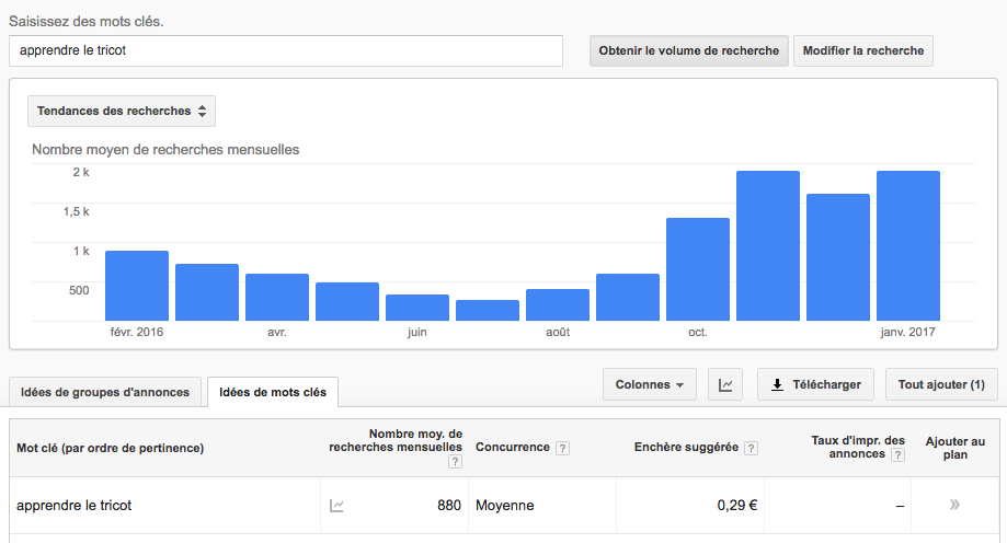 mot-clé-youtube-google-keyword-planner