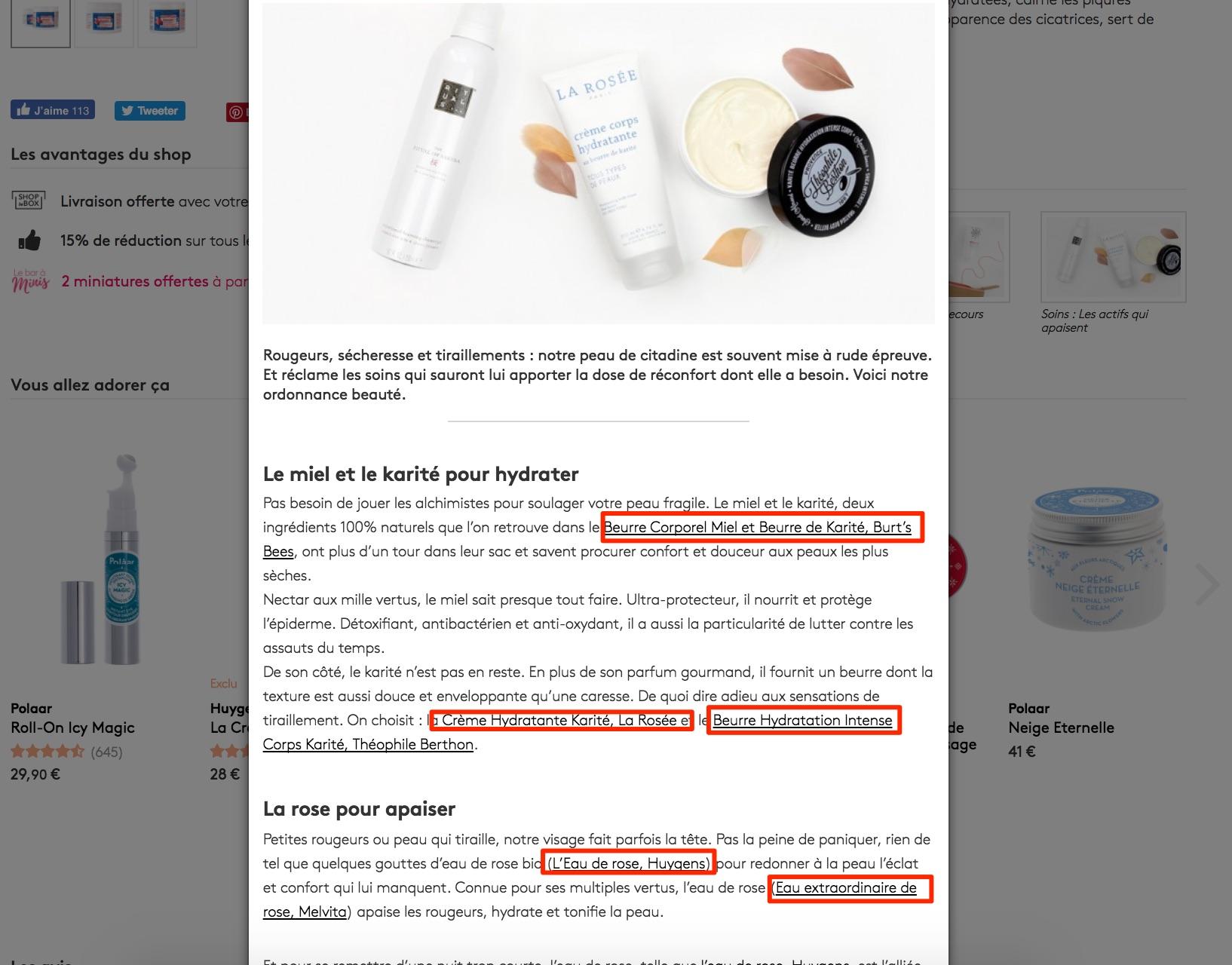 contenu mots clés e-commerce seo guide smartkeyword