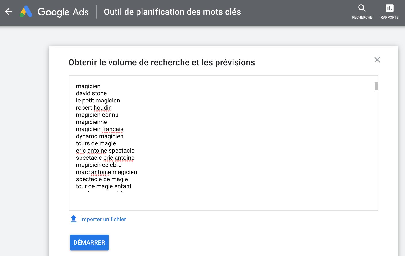 Google-Keyword-Planner-utiliser-liste-existante