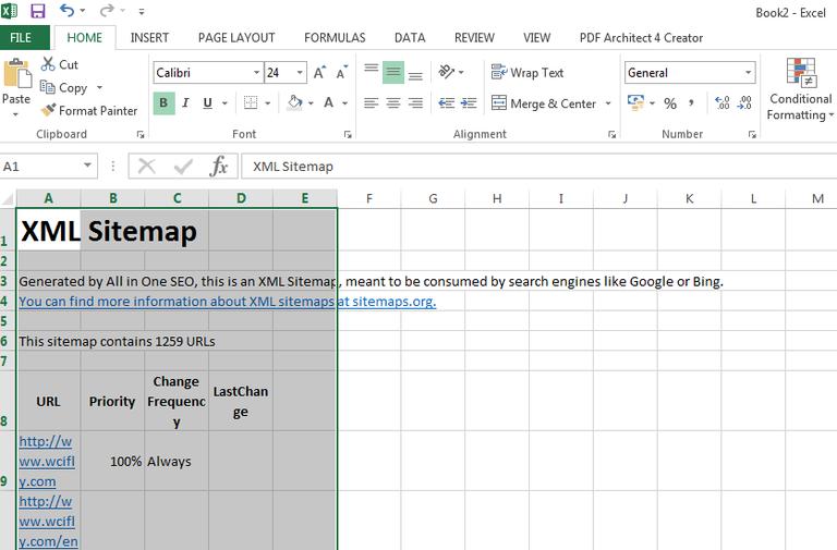 Sitemap-XML