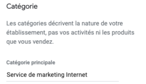 google-my-business-categorie