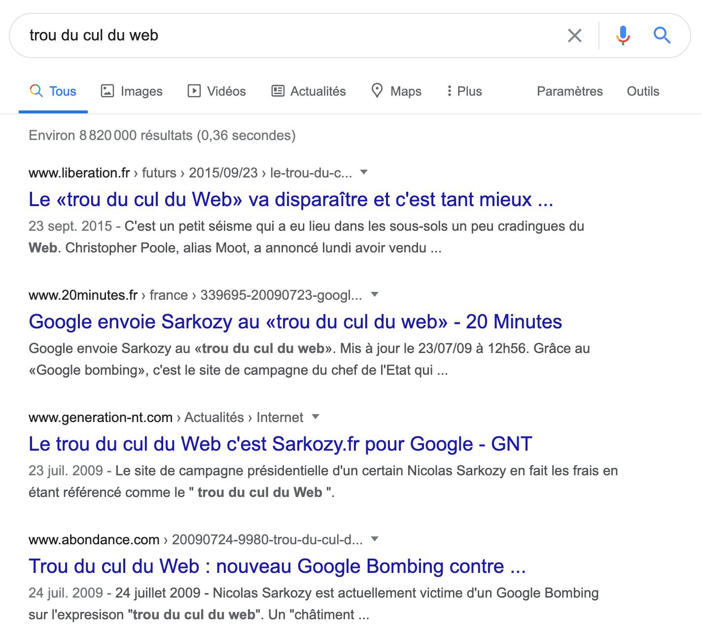 google-bombing-trou-du-cul-du-web
