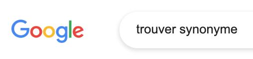 search-synonym-google