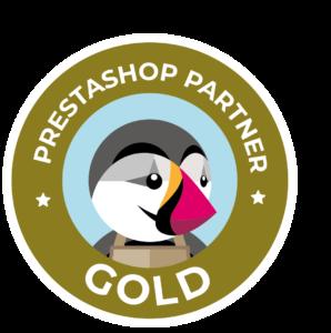 Prestashop Gold Agency Partner 2021
