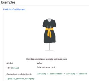 flux-google-shopping-categorisation-produit